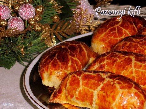 Pozsonyi kifli - mákos