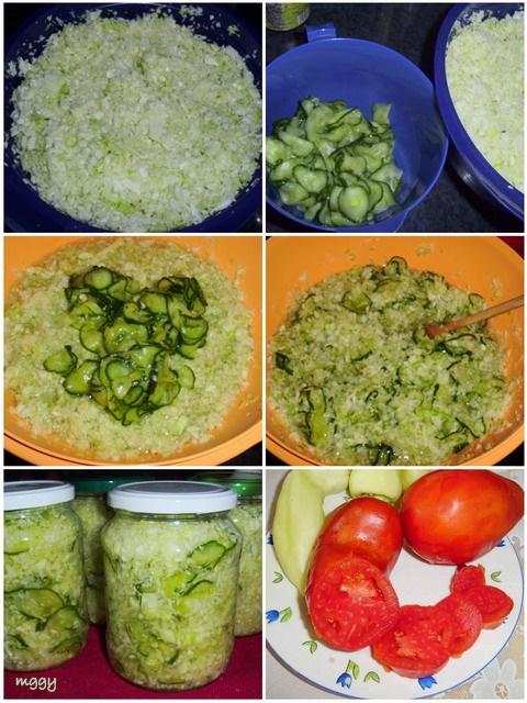 Káposztás vegyes saláta - képekben