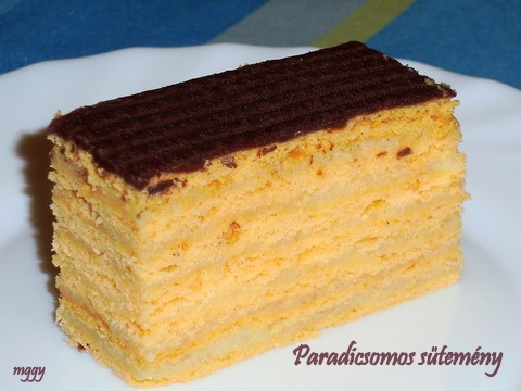 Paradicsomos sütemény
