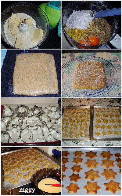 Diós keksz készítése képekben.