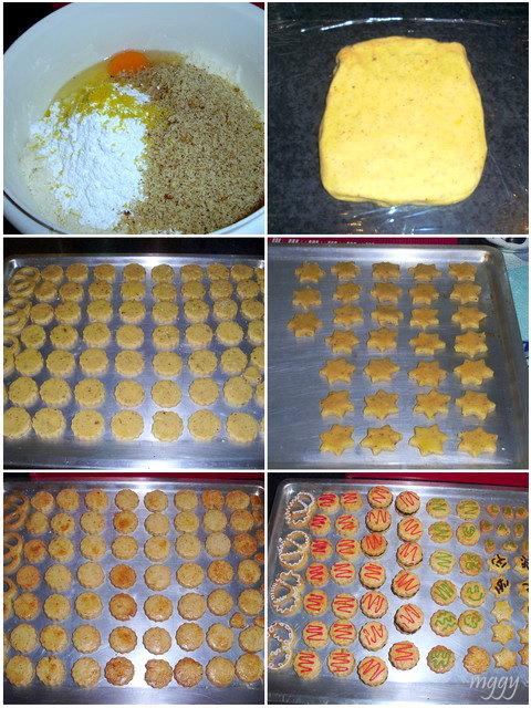 Ulla pompás keksze - készítése képekben