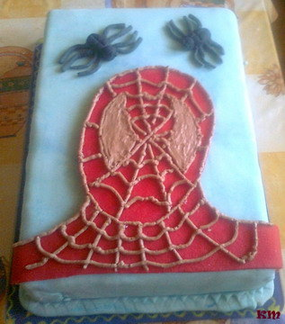 Zselécukros torta születésnapra