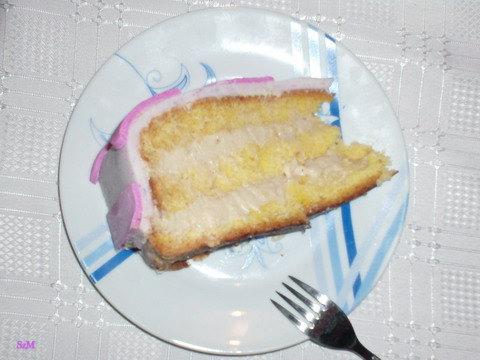 Nutellás tortaszelet.