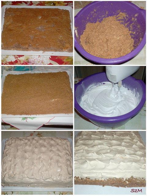 Plazma torta készítése képekben.