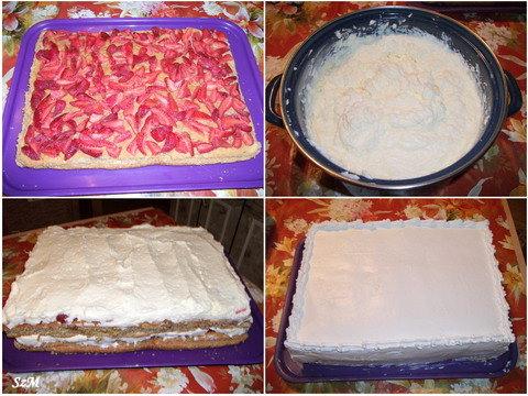 Földiepres torta készítése képekben.
