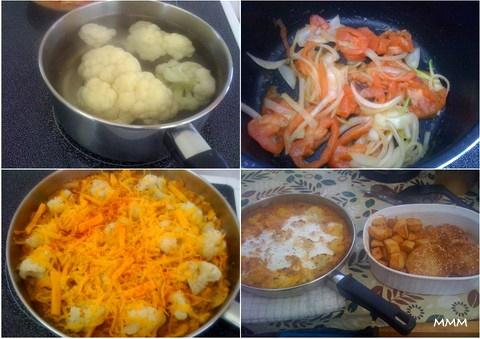 Sütőben sült zöldségek készítése képekben.