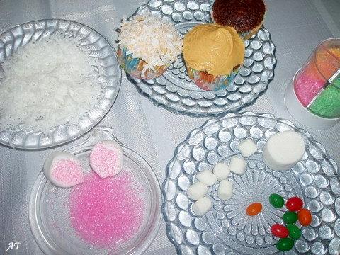 Díszíő anyagok a nyuszikhoz