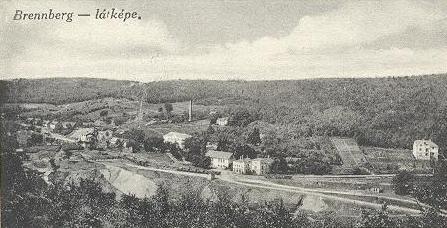 Brennberg látképe régen